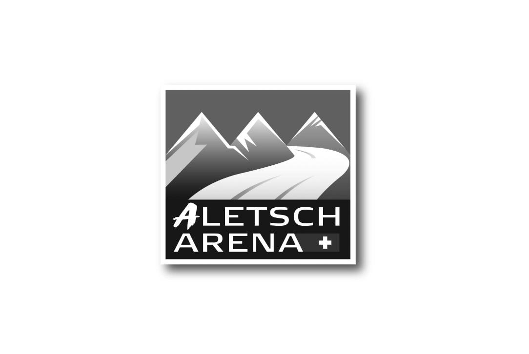 Aletscharena_logo_sw